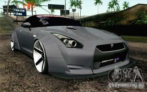 Nissan GT-R 2014 RocketBunny для GTA San Andreas