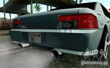 Sultan Lan Evo для GTA San Andreas вид справа