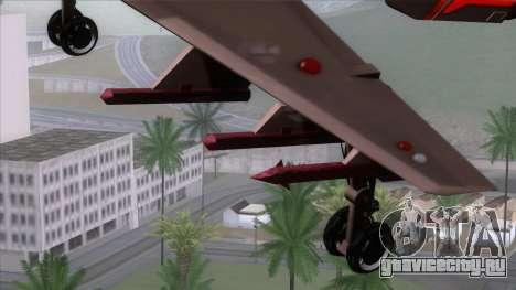 Shuttle v1 (wheels) для GTA San Andreas вид справа