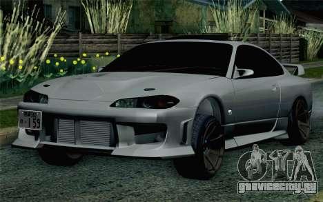 Nissan Silvia S15 SuperHero для GTA San Andreas