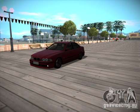 BMW 5-series E39 Vossen для GTA San Andreas