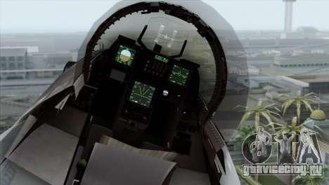 F-16C Block 52 PJ для GTA San Andreas вид сзади
