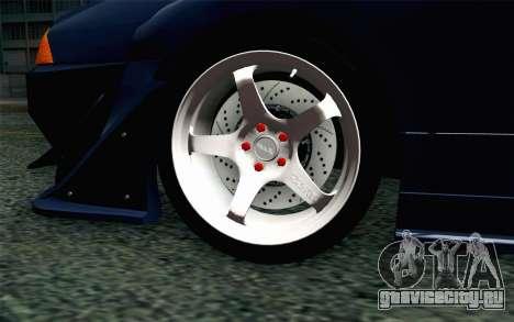 Elegy GP Sports G-SONIC EVO Kit для GTA San Andreas вид сзади слева