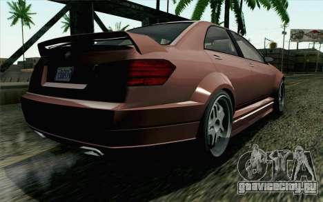 GTA 5 Benefactor Schafter SA Mobile для GTA San Andreas вид слева