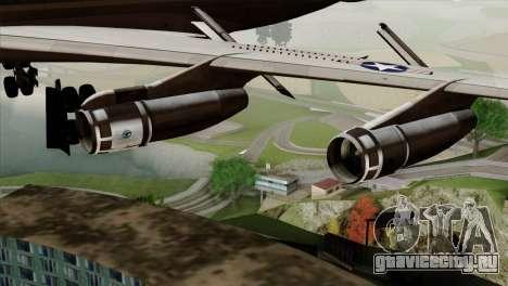Boeing VC-137 для GTA San Andreas вид справа