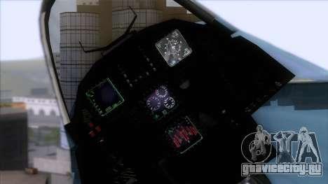 YF-23 JASDF для GTA San Andreas вид справа