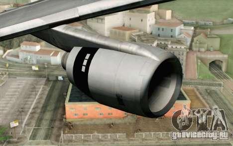Lookheed L-1011 Iberia для GTA San Andreas вид справа
