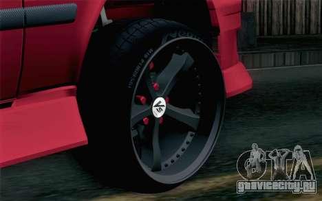 Toyota Chaser для GTA San Andreas вид сзади слева