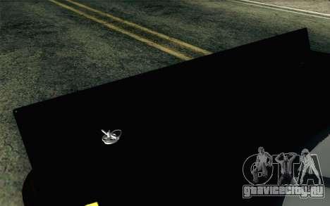 NASCAR Toyota Camry 2012 Short Track для GTA San Andreas вид сзади