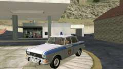 Москвич 2140 Милиция для GTA San Andreas