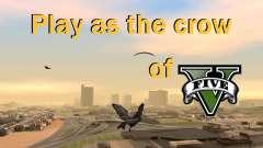 Возможность из GTA V играть за птицу V.1