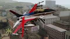 YF-16 Fighting Falcon для GTA San Andreas