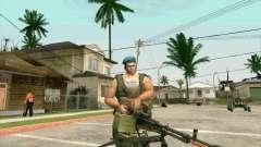 Танковый пулемет Корд для GTA San Andreas