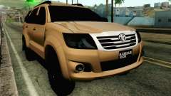 Toyota Fortuner 2014 4x4 Off Road для GTA San Andreas