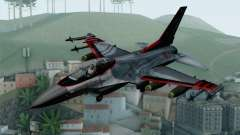 F-16 15th Fighter Squadron Windhover для GTA San Andreas