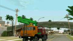 КамАЗ 44108 Лесовоз для GTA San Andreas