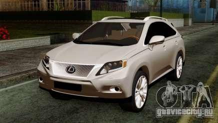 Lexus RX450H v2 для GTA San Andreas