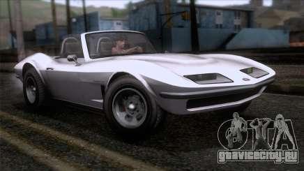 GTA 5 Invetero Coquette Classic TL SA Mobile для GTA San Andreas