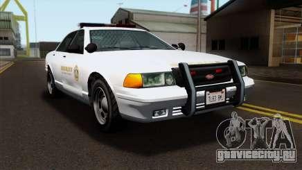 GTA 5 Vapid Stanier Sheriff SA Style для GTA San Andreas