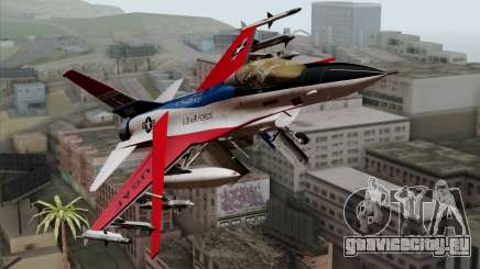 YF-16 Fighting Falcon для GTA San Andreas