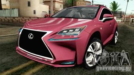 Lexus NX 200T v3 для GTA San Andreas