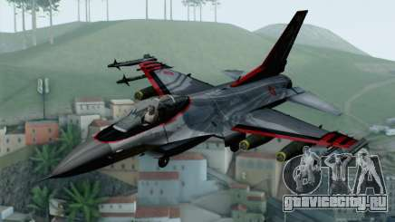 F-16 15th Fighter Squadron Windhover для GTA San Andreas