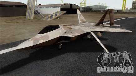 F-22 Raptor 02 для GTA San Andreas