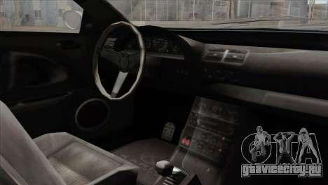 GTA 5 Ubermacht Zion XS Cabrio IVF для GTA San Andreas вид справа