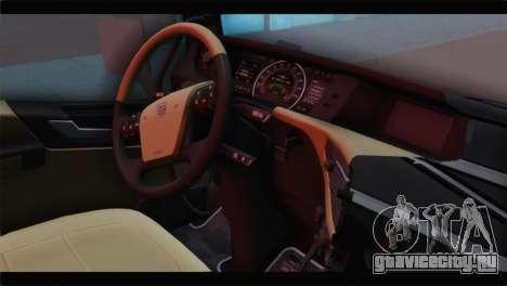 Volvo FH4 для GTA San Andreas вид справа