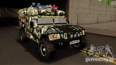 HMMWV M997 Ambulance для GTA San Andreas