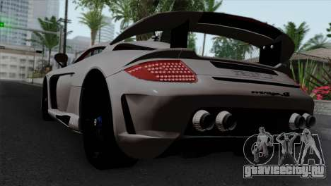 Gemballa Mirage GT v1 Windows Down для GTA San Andreas вид слева