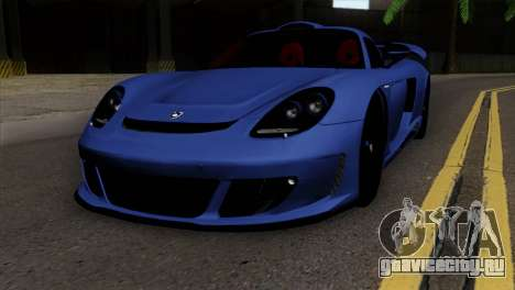 Gemballa Mirage GT v1 Windows Up для GTA San Andreas
