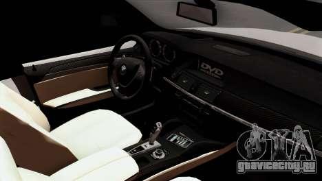 BMW X3 F25 2012 для GTA San Andreas вид справа