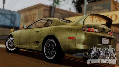 Toyota Supra Turbo (JZA80) 1998 FF7 Edition для GTA San Andreas вид слева