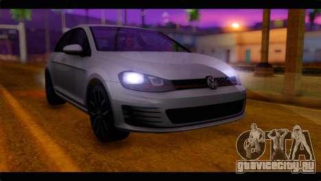 Volkswagen Golf 7 для GTA San Andreas