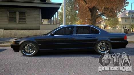 BMW 750i e38 1994 Final для GTA 4 вид слева