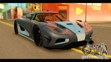 Koenigsegg Agera R 2011 Stock Version для GTA San Andreas
