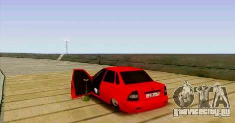 ВАЗ 2170 БПАN для GTA San Andreas вид сзади