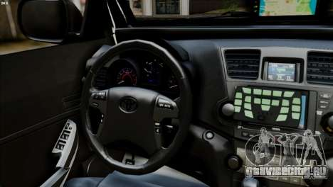 Toyota Hilux SW4 2014 ROTA для GTA San Andreas вид сзади слева