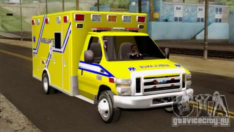 Ford F-450 2014 Quebec Ambulance для GTA San Andreas