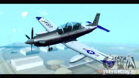 Beechcraft T-6 Texan II US Air Force 2 для GTA San Andreas