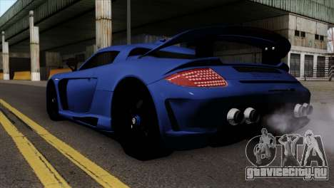 Gemballa Mirage GT v1 Windows Up для GTA San Andreas вид слева