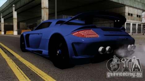 Gemballa Mirage GT v1 Windows Up для GTA San Andreas вид слева