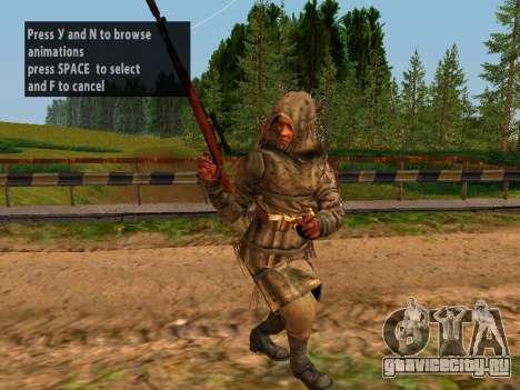 Советский Снайпер для GTA San Andreas пятый скриншот