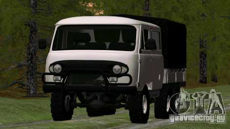 УАЗ 39094 6Х6 Мечта охотника для GTA San Andreas вид сзади