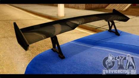 Infernus Rapide GTS для GTA San Andreas вид справа