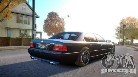 BMW 750i e38 1994 Final для GTA 4 вид справа