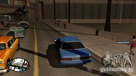 Новые тени без потери FPS для GTA San Andreas второй скриншот