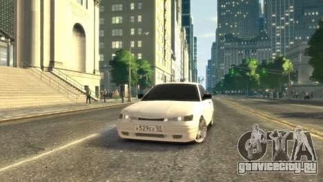 ВАЗ 2112 купе BadBoy для GTA 4 вид слева