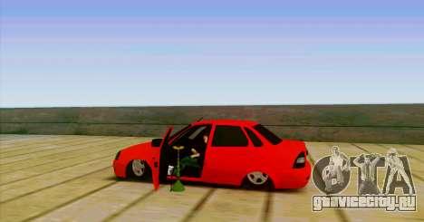 ВАЗ 2170 БПАN для GTA San Andreas вид слева